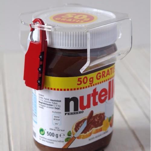 Nutella Schloss