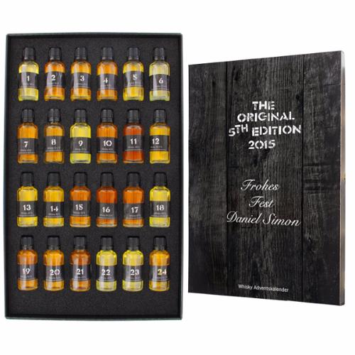 Whisky-World Adventskalender mit Gravur