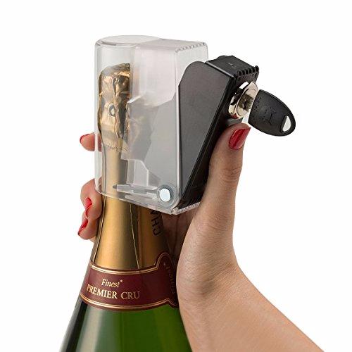 Flaschenschloss mit Schlüssel