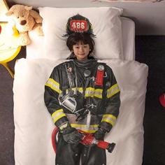 Bettwäsche Feuerwehrmann