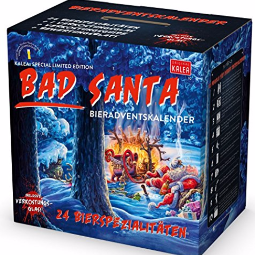 Kalea Bier Adventskalender - Bad Santa