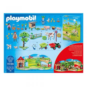 Playmobil Adventskalender Auf dem Bauernhof 70189
