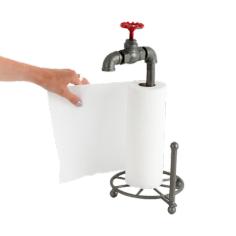 Küchenrollenständer Wasserrohr