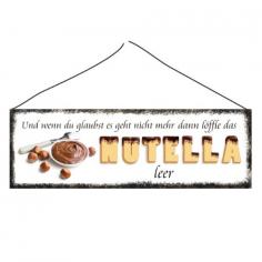 Nutella Türschild
