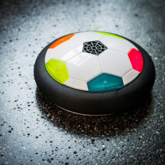 Air Soccer Disc mit LED-Beleuchtung