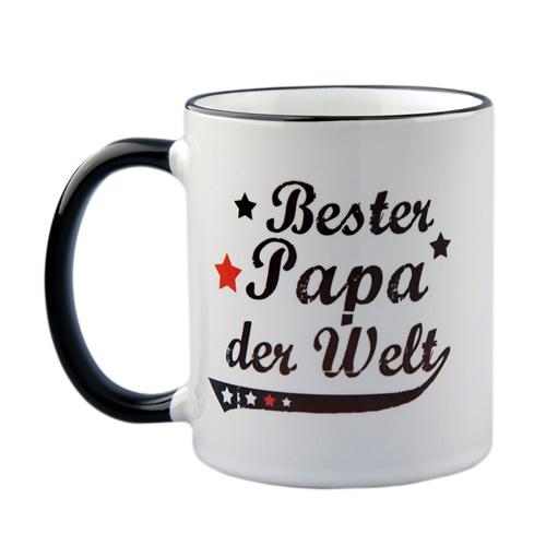 Vintage Tasse Bester Papa der Welt