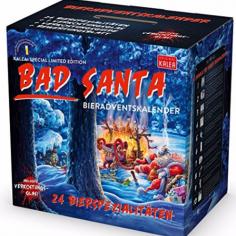 Kalea Bier Adventskalender - Bad Santa