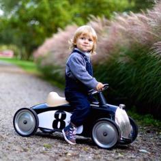 Kinderauto Black Racing