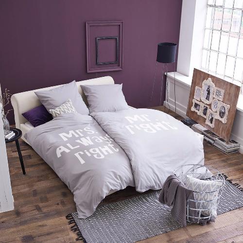 bettw schen mrs always right und mr right. Black Bedroom Furniture Sets. Home Design Ideas