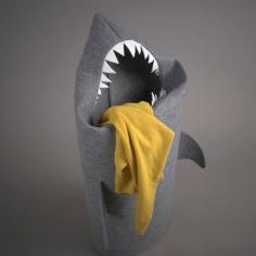 Wäschekorb Hai