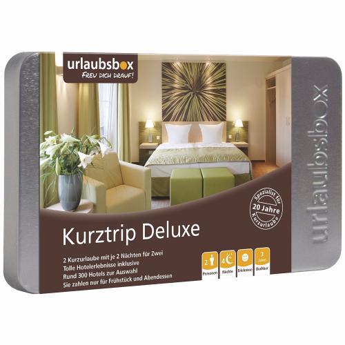 "Urlaubsbox ""Kurztrip Deluxe"""